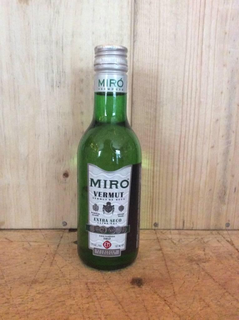 Miro Extra Seco Vermut De Reus Dry Vermouth (187ml)