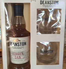 Deanston Virgin Oak Scotch (Glass Set) (750ml)