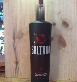 Soltado Anejo Tequila Infused with Serrano Peppers and Cinnamon (750ml)