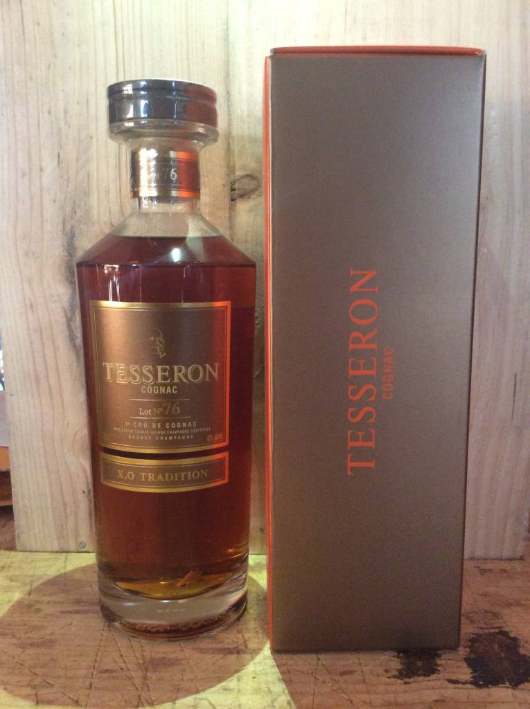 Tesseron Lot No. 76 X.O. Tradition Grande Champagne Cognac (750ml)