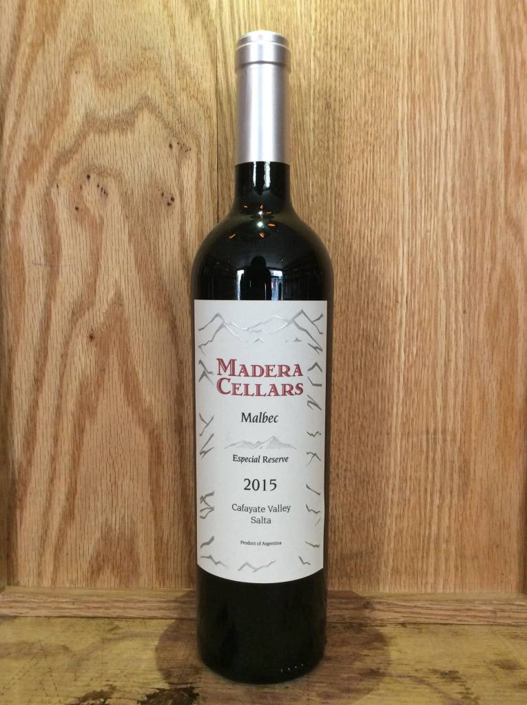 Madera Cellars Malbec 2015 (750ml)