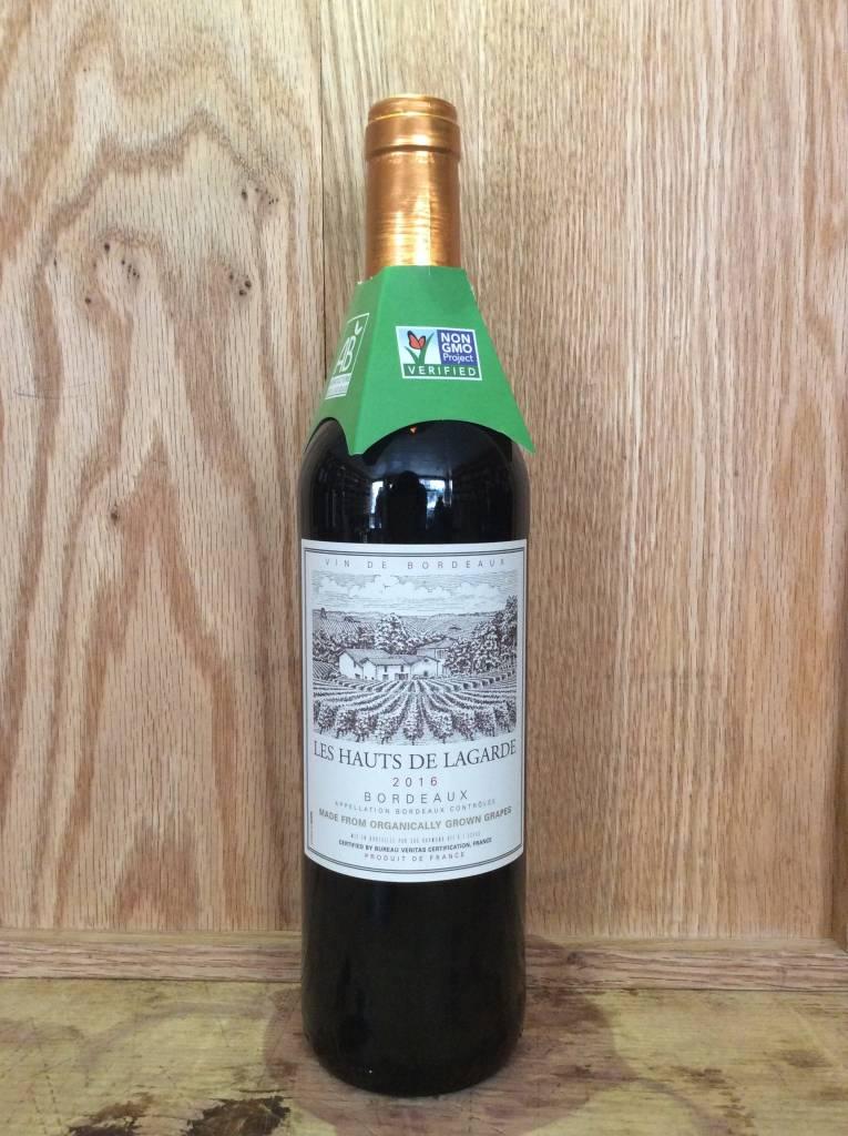 Les Hauts de Lagarde Bordeaux 2016 (750ml)