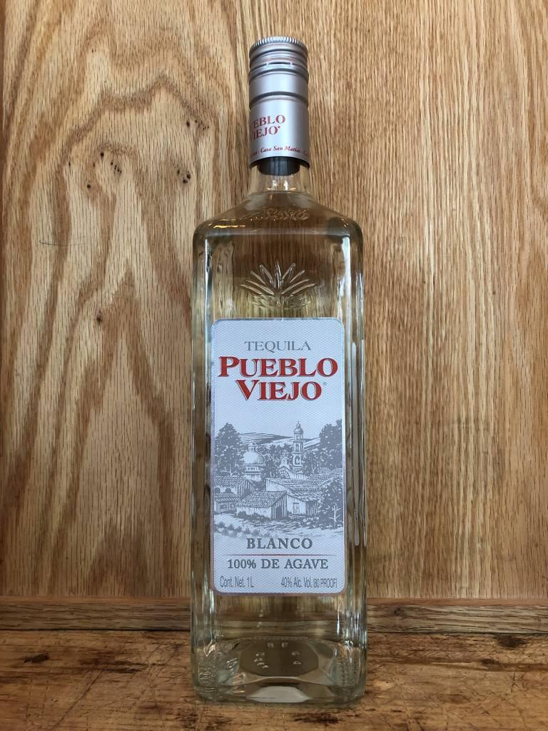 Pueblo Viejo Tequila Blanco (1L)