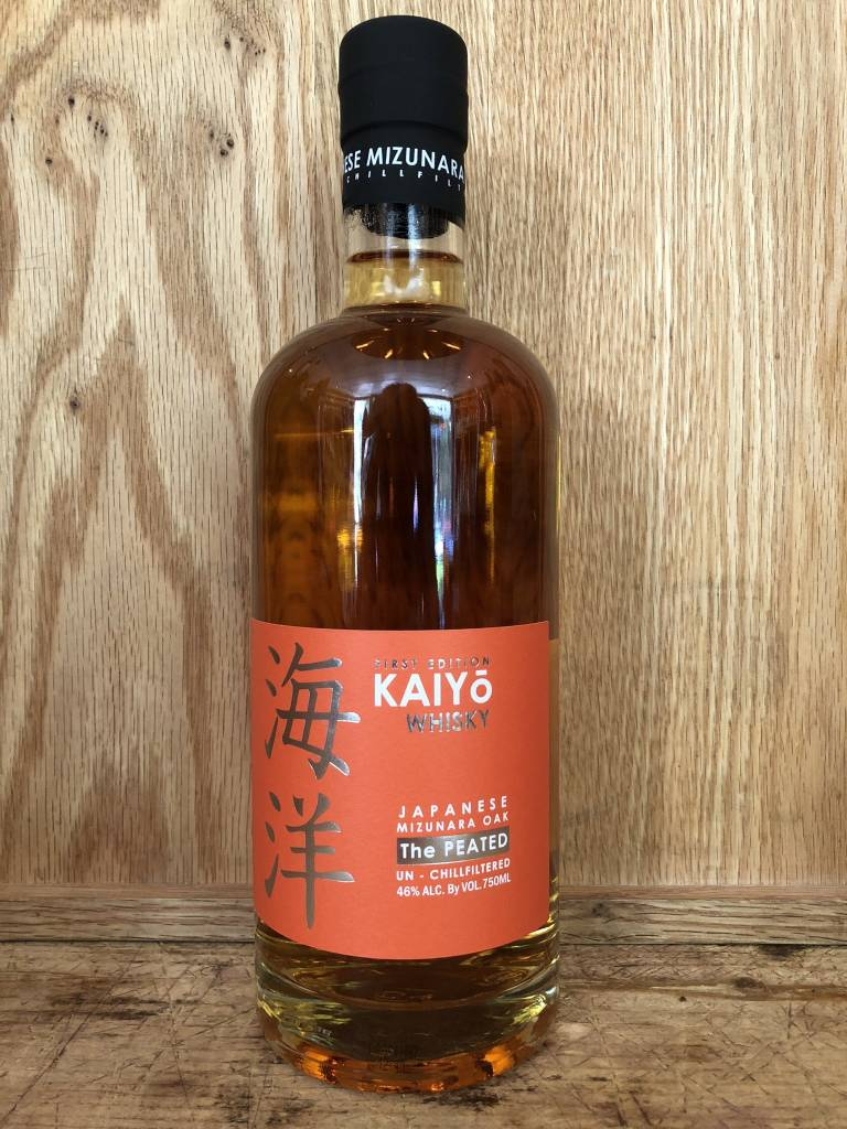 Kaiyo The Peated Japanese Mizunara Oak (750ml)