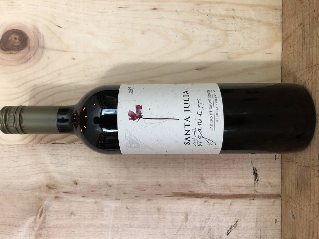 Santa Julia Vineyard Organic Cabernet Sauvignon 2017 (750ml)