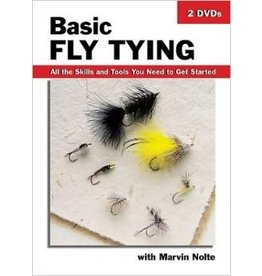 Basic Fly Tying DVD 2-Disc Set