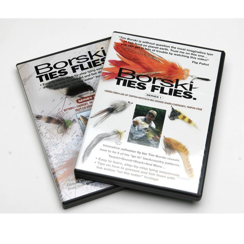Borski Ties Flies DVD