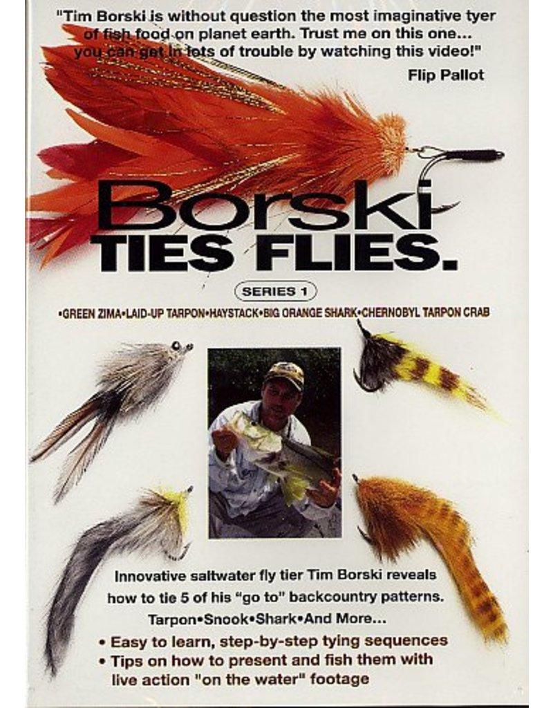 Borski Ties Flies DVD