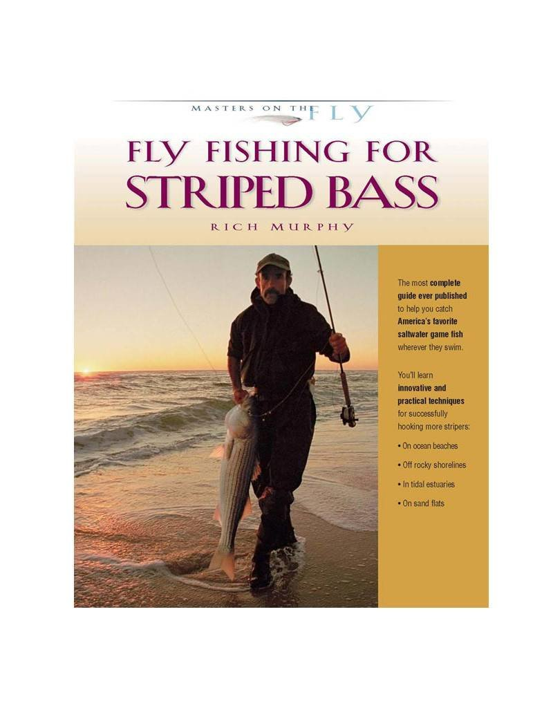Fly-Fishing For Striped Bass, Hardcover