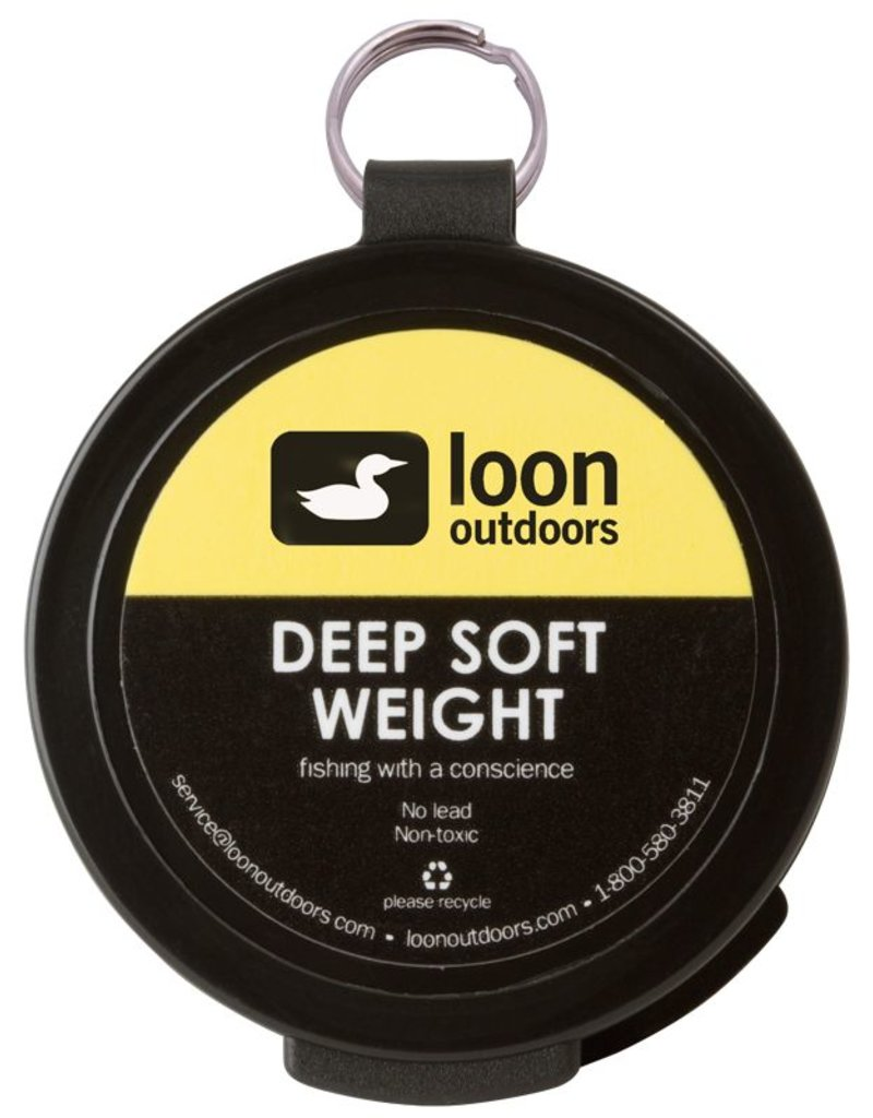 Loon Outdoors Loon Deep Soft Weight - Tungsten