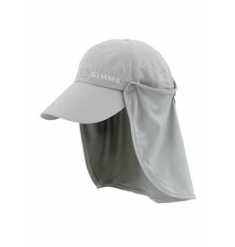 Simms Simms Bugstopper Sunshield Hat Smoke