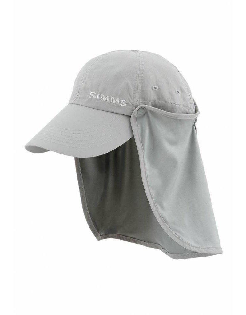 Simms Simms Bugstopper Sunshield Hat Smoke