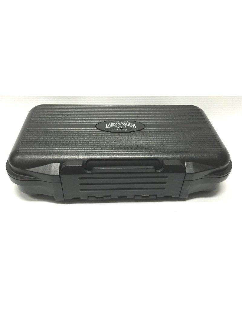 Urban Angler UA Large Waterproof Box Black No Leaf
