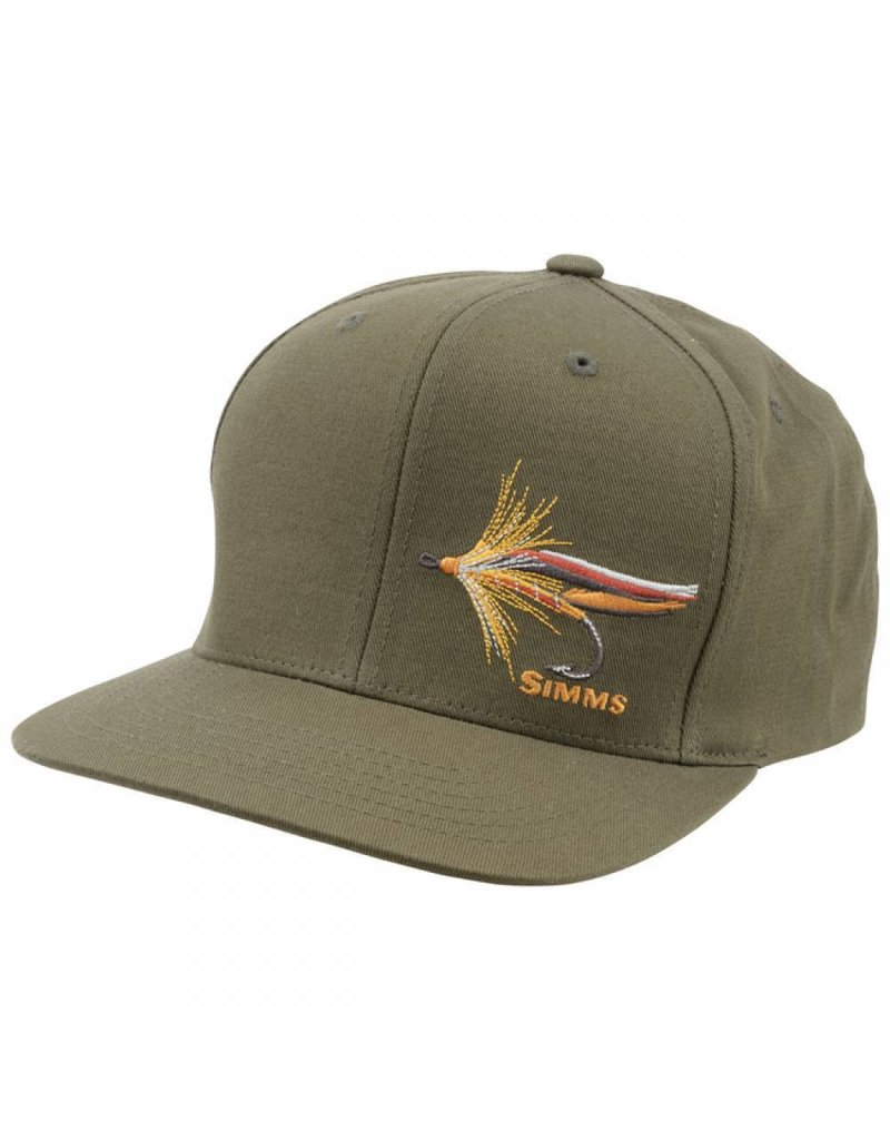Simms Simms Snapback Hat Trout Fly Loden