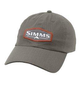 Simms Simms Ripstop Cap Dark Gunmetal