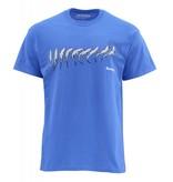 Simms Simms Sipping Trout T-Shirt Cobalt
