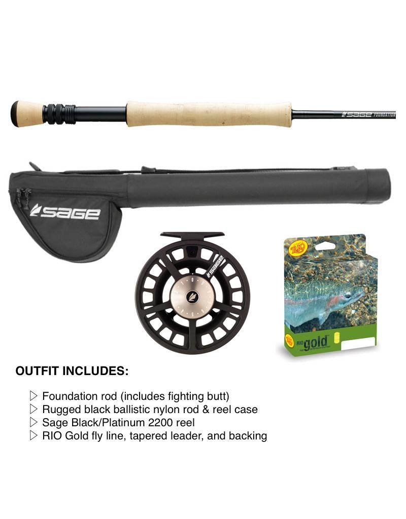 Sage Sage Foundation Fly Rod & Reel Outfits