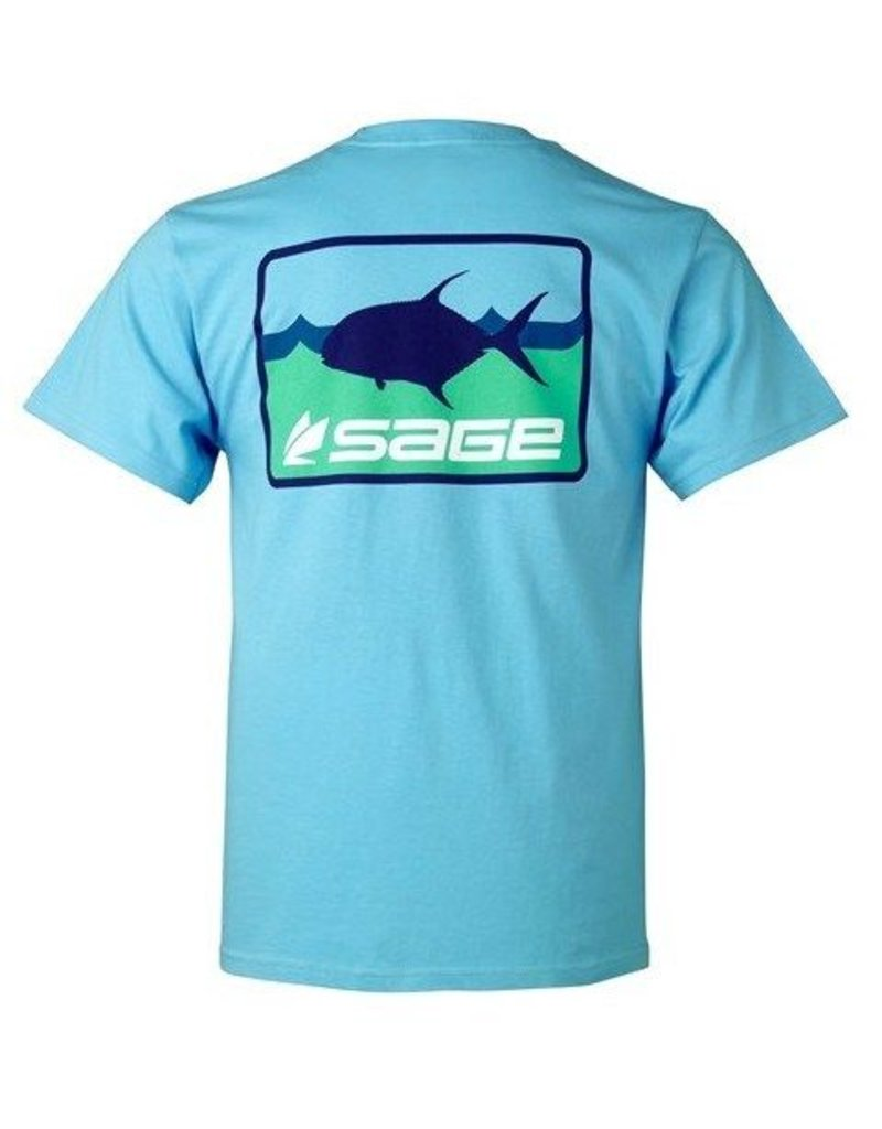 Sage Sage On The Water Tee Tropic Blue