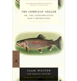 Angler's Book Supply The Compleat Angler by Izaak Walton