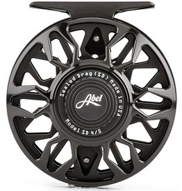 Abel Reels Abel SD (Sealed Drag) Reel LH 4/5 Black