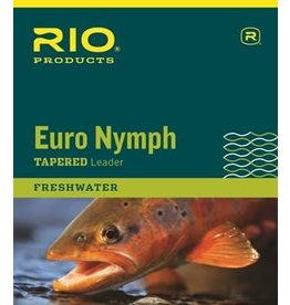 Rio Rio Euro Nymph Leader With Tippet Ring