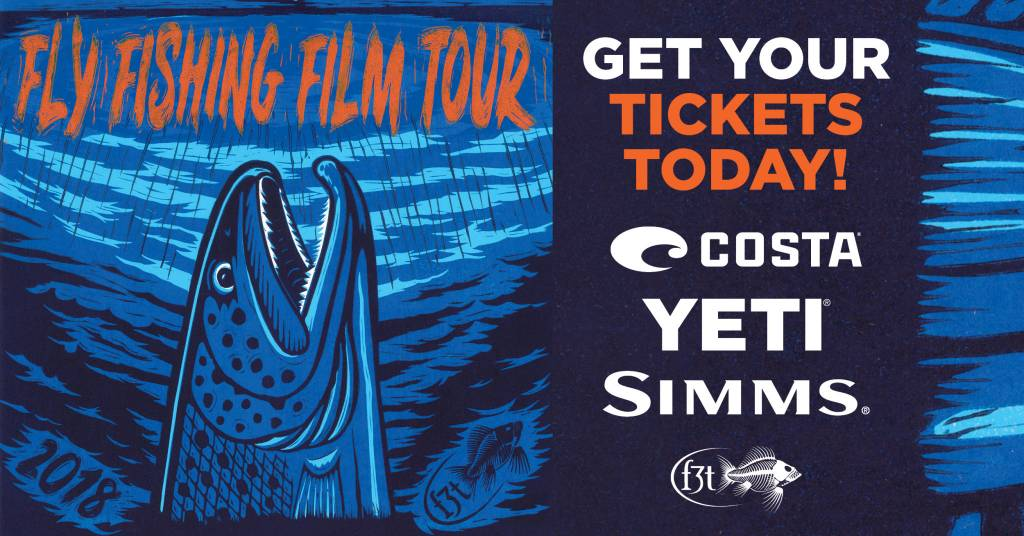 Urban Angler NYC Fly Fishing Film Tour Ticket - 2018