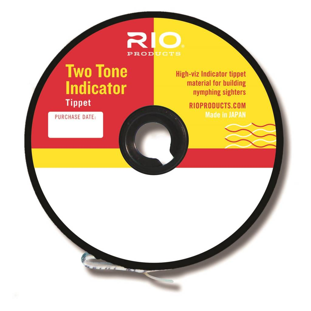 Rio 2-Tone Indicator Tippet 3x