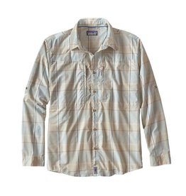 Patagonia Patagonia Sun Stretch Shirt Back Cast - Bleached Stone Large