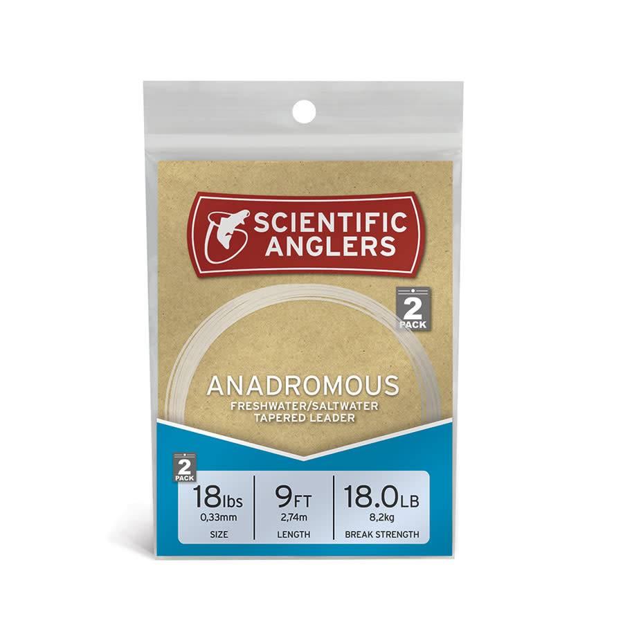 Scientific Anglers Scientific Anglers Anadromous Leader - 9' (2-Pack)