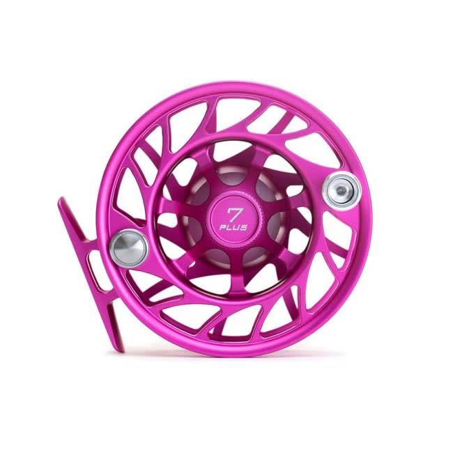 Hatch Custom Hatch Finatic Reel - 7 Plus Casting For Recovery Pink