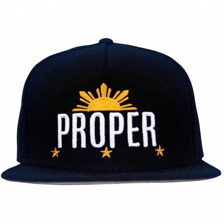 Proper Philippines Snapback - Black