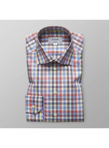 ETON OF SWEDEN CONTEMPORARY CHECK SHIRT