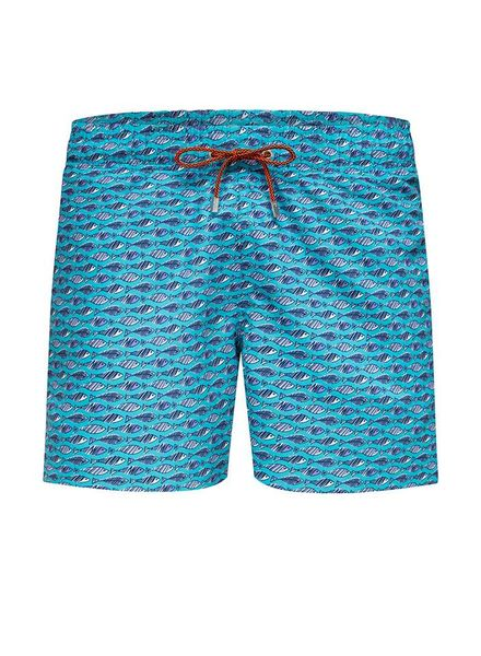 BUGATCHI UOMO FISH SWIM TRUNKS