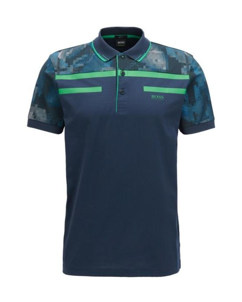 HUGO BOSS HUGO BOSS GEOMETRIC POLO