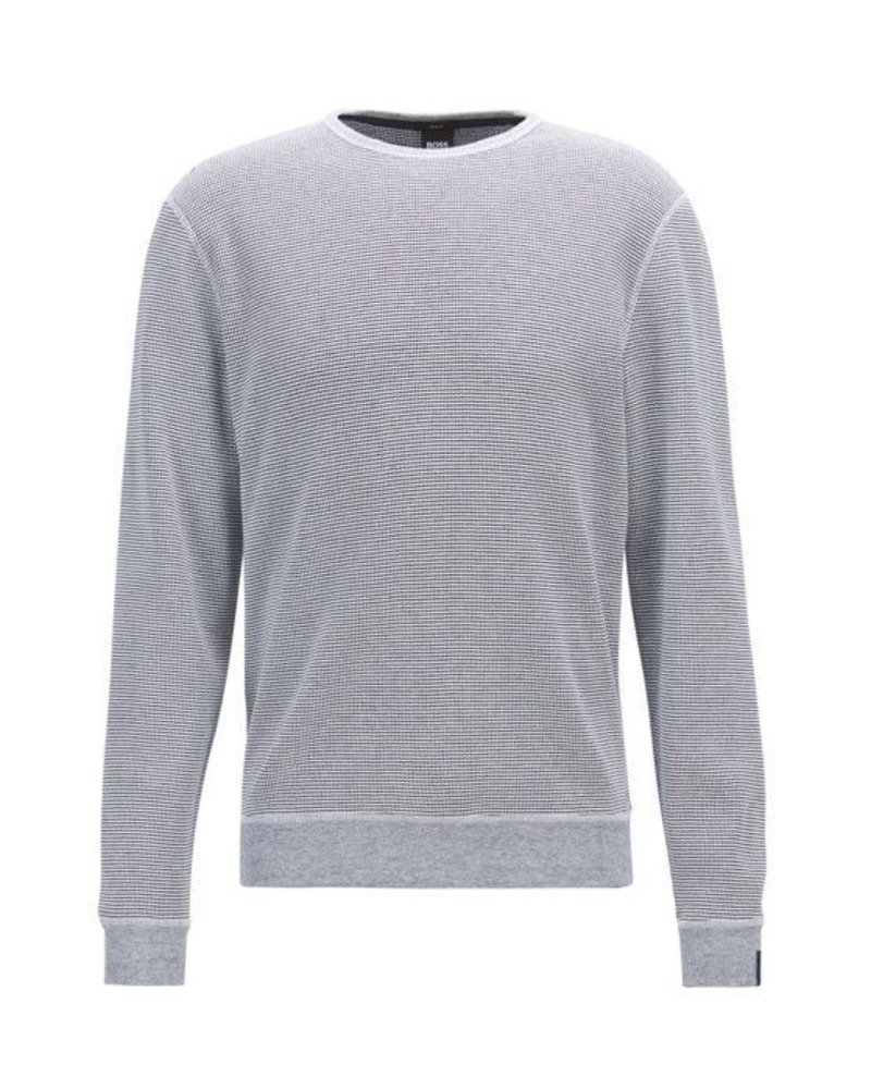 HUGO BOSS COTTON KNIT SWEATER
