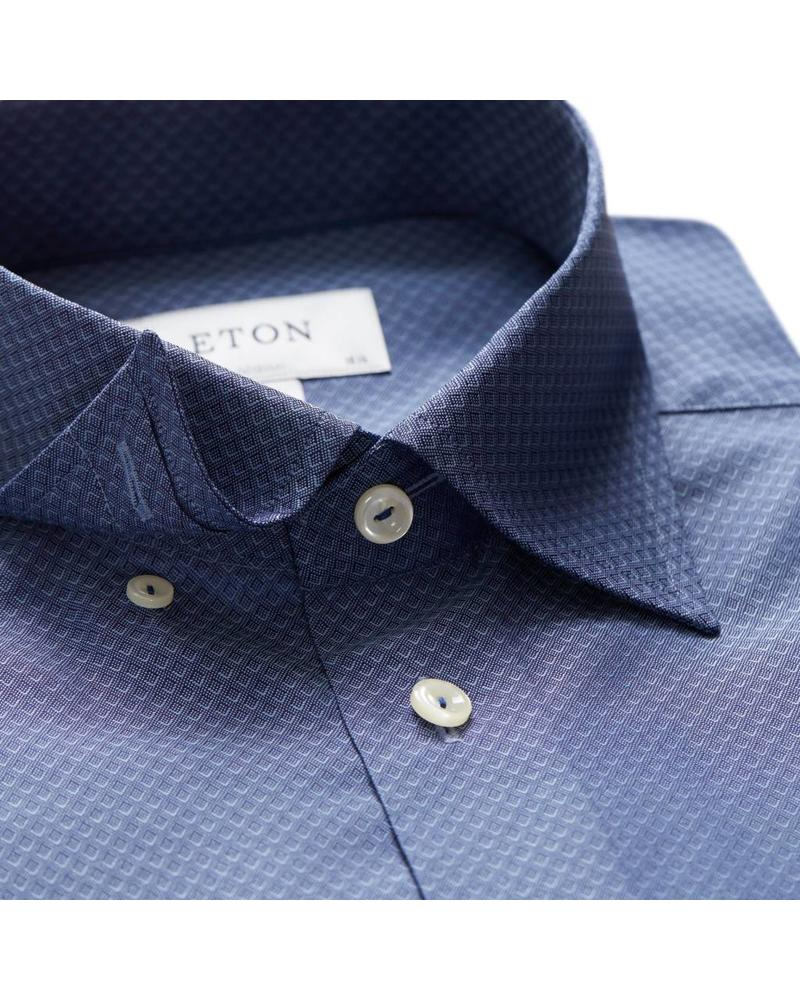 ETON OF SWEDEN PINPOINT BUTTON-UNDER SHIRT