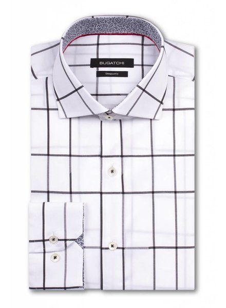 BUGATCHI UOMO WINDOWPANE SHIRT