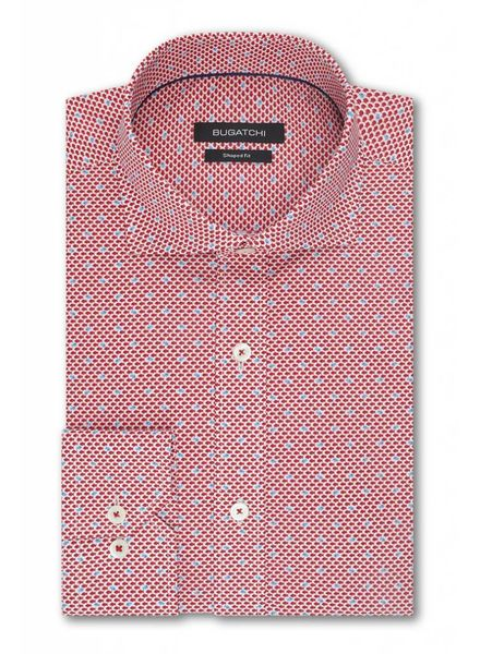 BUGATCHI UOMO FISH SHIRT