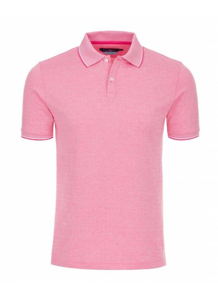 STONE ROSE DIAMOND KNIT POLO