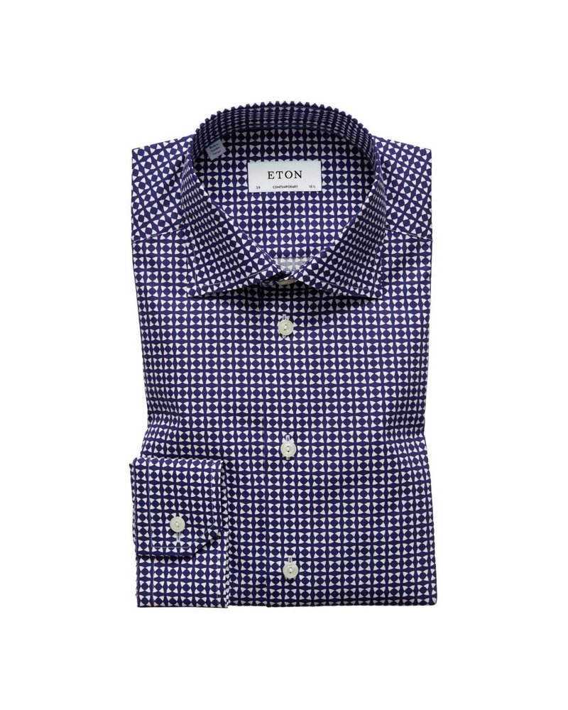 ETON OF SWEDEN PRINT SHIRT