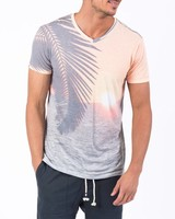 SOL ANGELES SUNDOWN V-NECK TEE