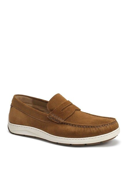 TRASK SHELDON SUEDE PENNY LOAFER