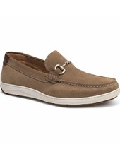 TRASK STALWORTH BIT SUEDE LOAFERS