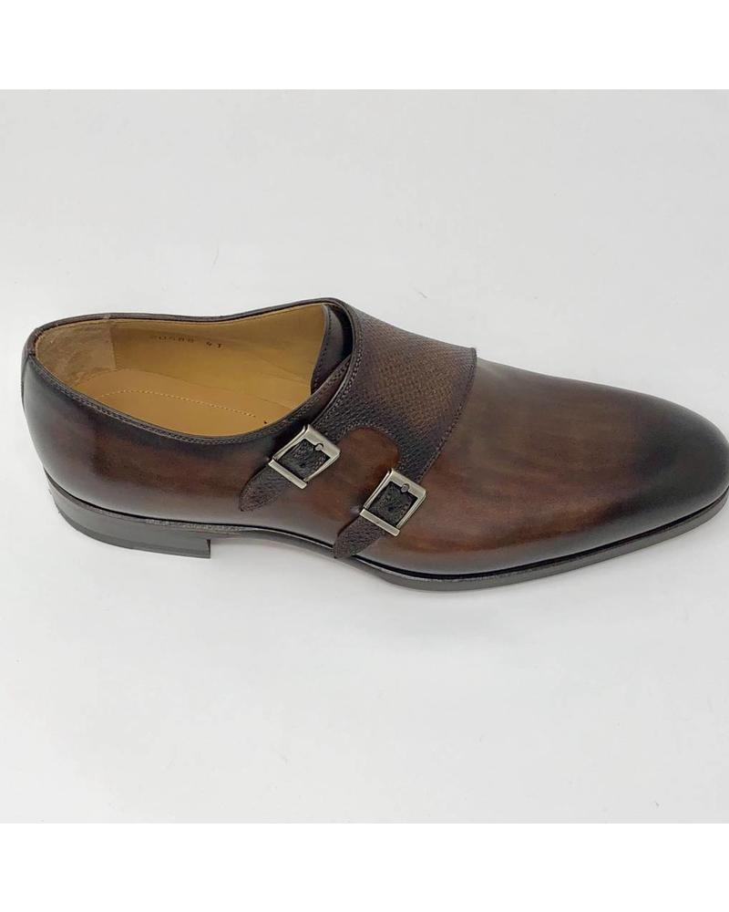 MAGNANNI ARCADE PEBBLED MONK SHOES