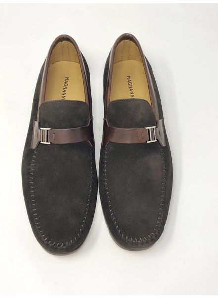 MAGNANNI CROSTA SUEDE LOAFERS