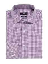 HUGO BOSS REGULAR-FIT CHECKED SHIRT