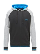 HUGO BOSS LOUNGEWEAR HOODED JACKET