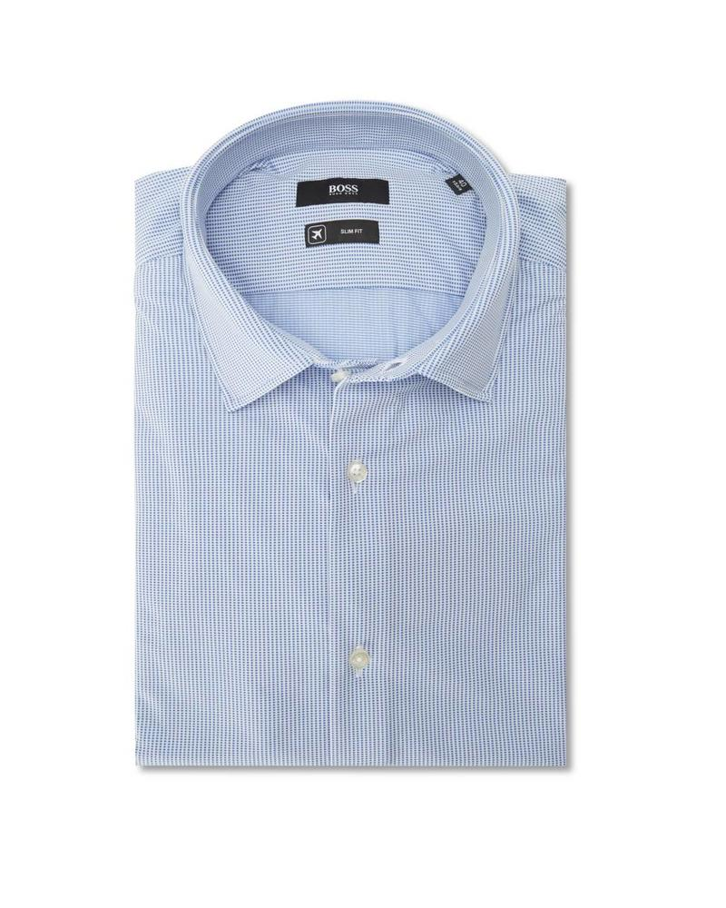 HUGO BOSS SLIM JERSEY STRETCH SHIRT