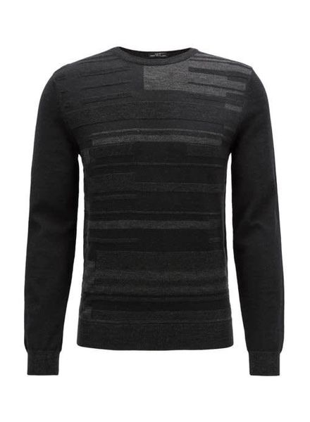 HUGO BOSS SLIM-FIT KNITTED SWEATER