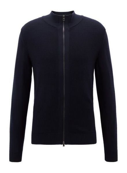 HUGO BOSS FULL ZIP CARDIGAN